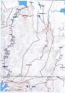 01 Kart Akerselva, Hovinbekken, Loelva
