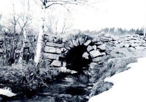 25 Borebekken steinhvelvbro